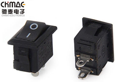 On Off Kcd11 Rocker Switch, Tiny Rocker Switch 5A / 6A 125V AC 1500 VAC / นาที